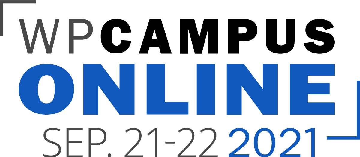 WPCampus Online 2021 will take place September 21-22