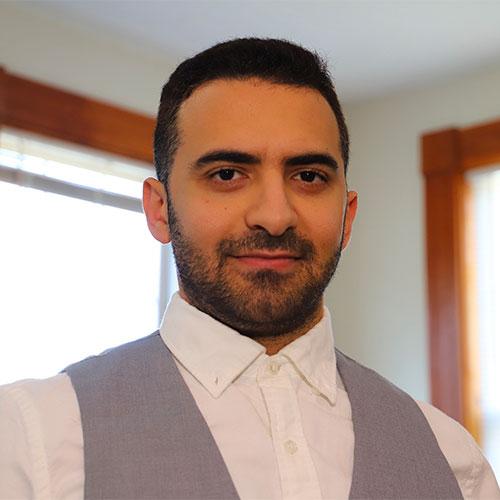 Headshot of Khaled Arnaout