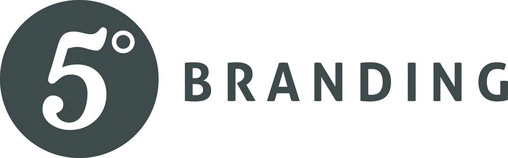 5 Degrees Branding logo